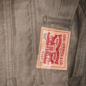 Levi's Jeans - MENS LEVI JEANS SIZE 40x32 tan color perfect
